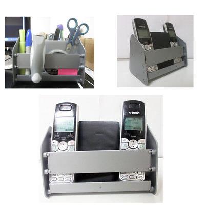 TV Remote Control Caddy Storage Holder Couch Arm Chair Desk Multi Rack Organizer ()