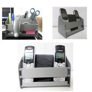 TV Remote Control Caddy Storage Holder Couch Arm Chair Desk Multi Rack Organizer
