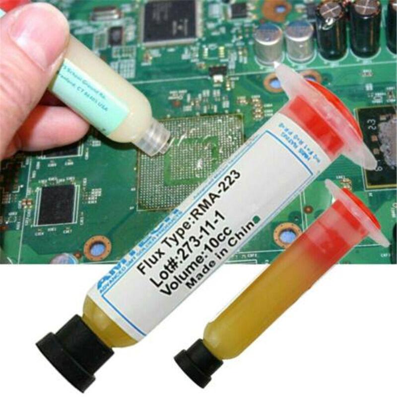 1 PCS Water Soluble Gel Syringe Rosin No Clean FLUX