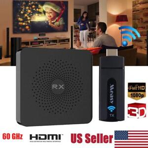 Wireless HDMI Extender Video Audio Transmitter Receiver For HDTV PC DVD 1080P HD
