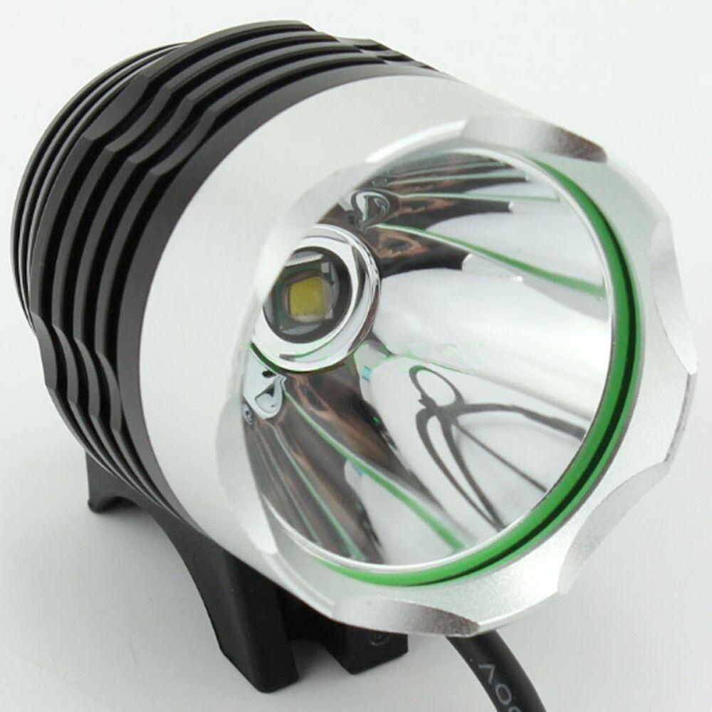 Luce faro faretto LED 1800 lumen per bici bicicletta fascia testa jogging corsa