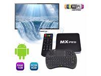 MX Pro Smart TV Android TV Box 1080P Kodi Keyboard