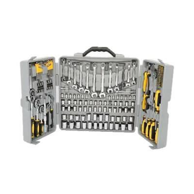 New Portable 205 PCS Tool Set Mechanics Tool Kit Wrenches Socket w/ Carry Case