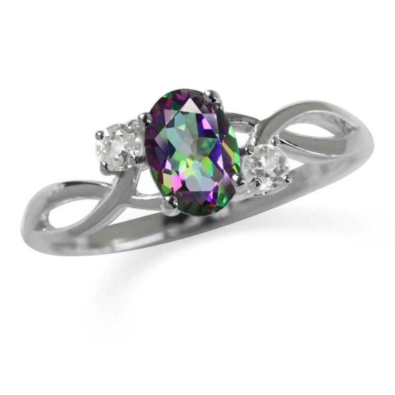 listing mystic topaz poshmark rainbow fire oval ring rings jewelry m