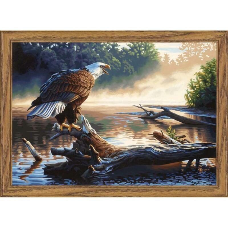 Paintworks® Eagle Hunter Paint-by-Number Kit