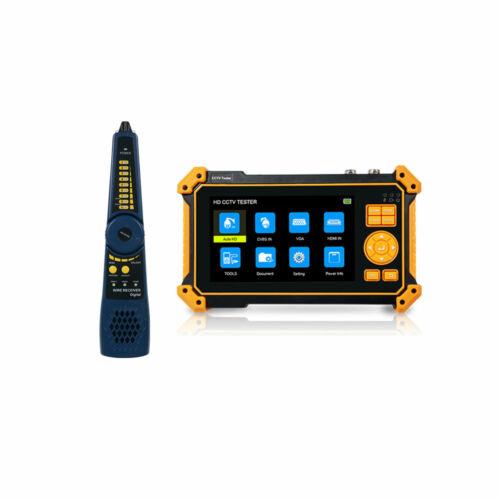 "5"" HD CCTV Tester Monitor CVBS AHD CVI TVI 8MP HDMI VGA Input UTP Tester 12V"