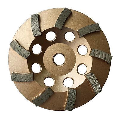 4.5 Concrete Grinding Cup Wheels 9 Diamond Abrasive Seg 58-11 Arbor