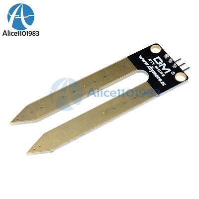 5pcs 3pin Soil Hygrometer Detection Module Soil Moisture Sensor Arduino Mega2560