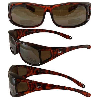 Motorcycle Sunglasses FIT OVER PRESCRIPTION GLASSES & POUCH DRIVING MIRROR  (Prescription Motorcycle Sunglasses For Men)