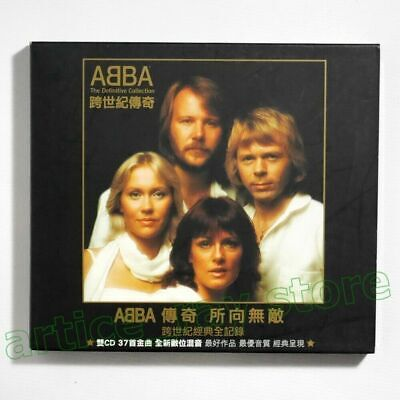 ABBA The Definitive Collection Taiwan 2 CD BOX Promo 40P Greatest Hits 2003