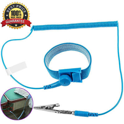 Esd Anti Static Wrist Strap Discharge Band Grounding Prevent Anti-static Shock