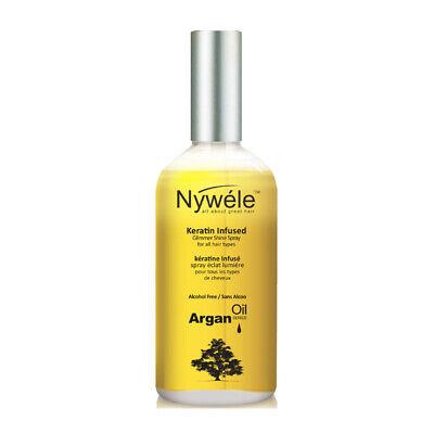 Nywele Keratin Infused Glimmer Shine Spray, 3.4 oz