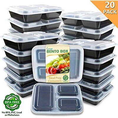 Meal Containers With Lids Microwavable Plastic Food Storage