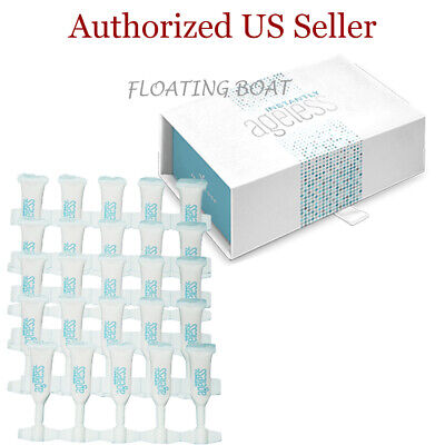 Authentic Jeunesse Instantly Ageless Facelift, Box of 25 Vials Exp 11/2021 Ageless Face Lift