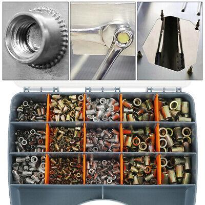 900pcs Rivet Nut Gun Kit Rivnut Tool Nut Setter Thread Setting Nutsert Tool Sae