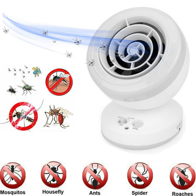Electronic Mosquito Killer Repellent Lamp Fly Bug Zapper Catcher Insect Trapper