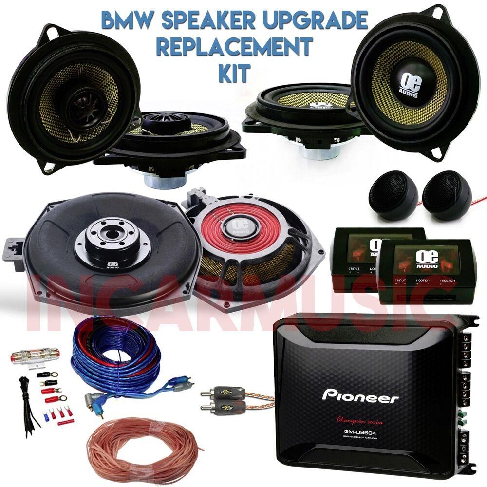 Bmw 1 3 5 6 7 Series X1 X3 X5 X6 Car Audio Door Speakers Subwoofer Wiring Mid Range Upgrade Supply Install