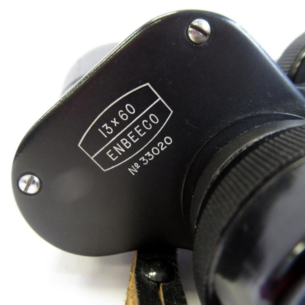 Vintage Ross London Binoculars with Leather Case - ENBEECO - 13X60 - No33020