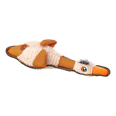 House of Paws Flappies Duck Dog Toy | Wings that flap | Medium Squeaky Orange