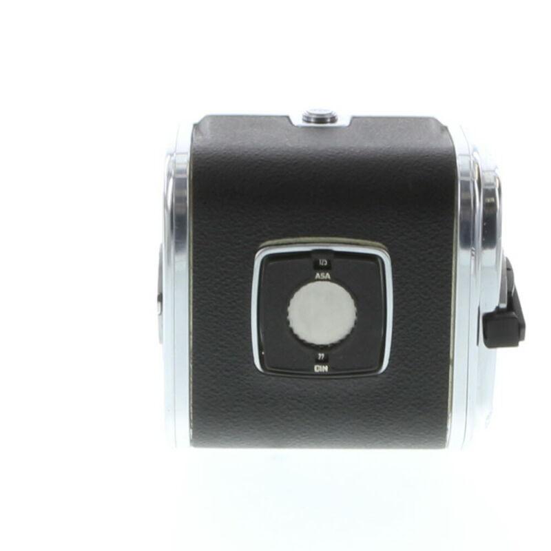 Hasselblad A12 120 Film Back, Black/ Chrome, for V System **BG**