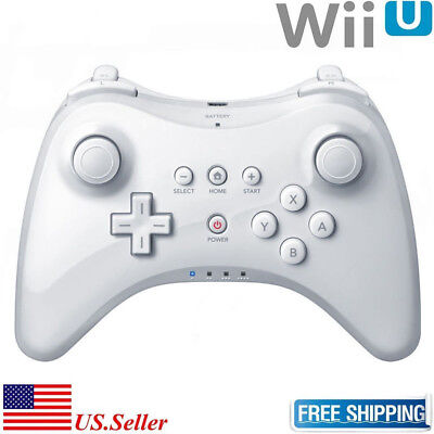 Nintendo Wii Control - For Nintendo Wii U Pro Bluetooth Wireless Remote Controller Gamepad Joystick US