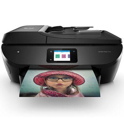 - HP Envy 7858  4800x1200 dpi All-in-One InkJet Wi-Fi Printer w/ Mobile Printing