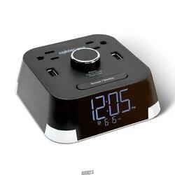 Power Strip Alarm Clock USB smartphone Charging Station tablets smartphones