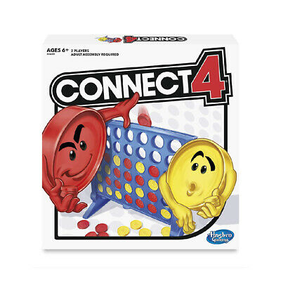 Connect 4 Four Classic Family Fun Fast Easy Paced Board Game