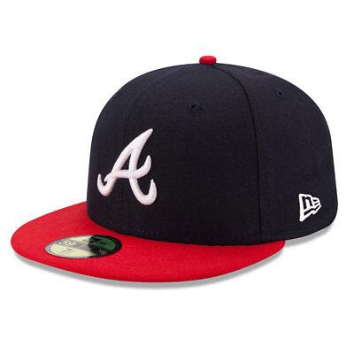 8a37b82dd70af Atlanta Braves Licenced 59FIFTY MLB New Era Fitted Cap - size 7 1 4