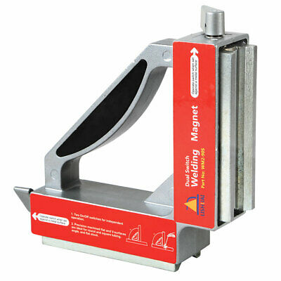 110lb Double Switch Ndfeb Welding Magnetsstrong Magnetic Clamp Magnet Holder