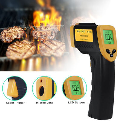 Temp Meter Temperature Gun Non-contact Digital Infrared Laser Ir Thermometer New