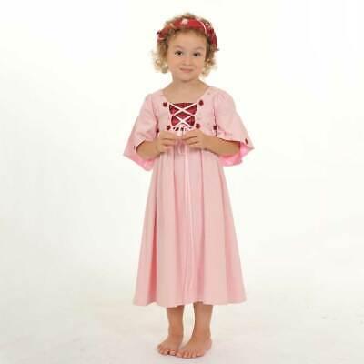 Lovely Lea Prinzessin Fasching Mädchen Kostüm Kleid rosa - Hochzeits Blumen Mädchen Kostüm