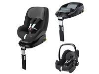 Maxi Cosi FamilyFix Car Seat Bundle with Base NEW