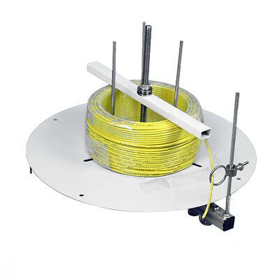 Electrical Cable Spool Reel Dispenser Stand Roller Cord Wire Dispensing Tool