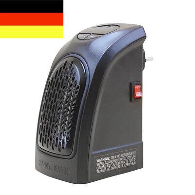 DE Elektrische Mini Heizung Heizlüfter 350W Tragbar Für Steckdose Badezimmer (Steckdose, Elektrische Heizung)