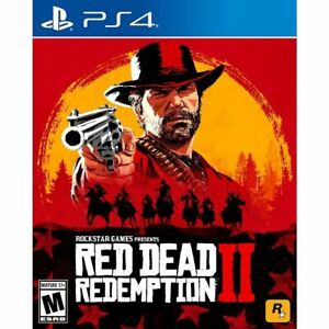 PS4 Red Dead Redemption II  PlayStation 4 Brand New Sealed