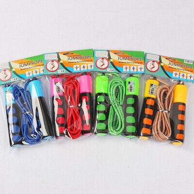Kids Adult Skipping Jump Rope w/ Counter- Exercise Jumping Game Fitness Activity
