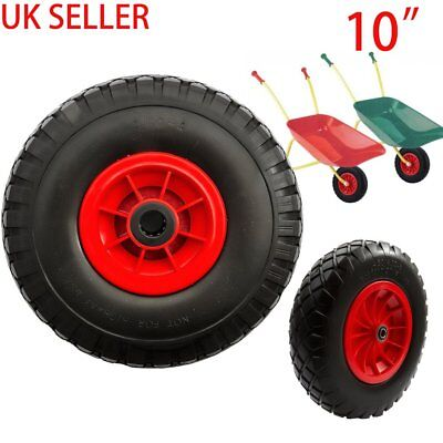REPLA Puncture Proof Solid Wheelbarrow Wheel and Tyre 3.00-4 Sack Truck Go Kart