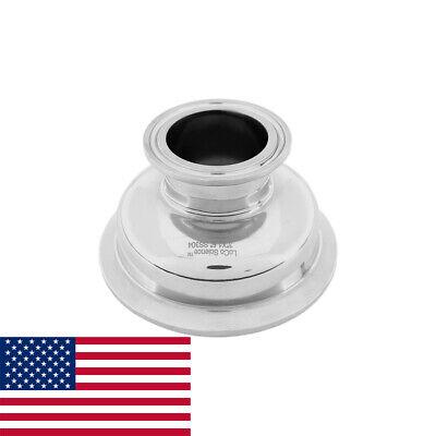 3 X 1.5 Tri Clamp Hemispherical Bowl Reducer Ss304 Loco Science