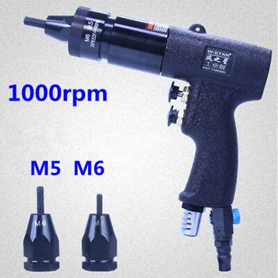 802 M5m6 Pneumatic Riveters Pneumatic Pull Setter Air Rivets Nut Gun Self Locki