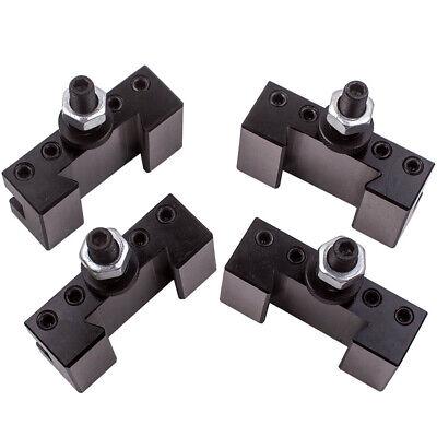"4PCS Lathe Facing Holder For 6-12"" AXA Quick Change CNC Turning Tool 250-101"