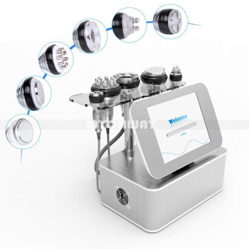 7in1 Ultrasonic 40K Cavitation Radio Frequency RF BIO Vacuum Cellulite Machine