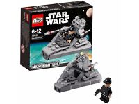 LEGO Star Wars 75033: Microfighters Star Destroyer. Brand new and unopened