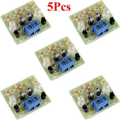 5pcs Simple Led Flash Diy Kits Circuit Electronics Diy Electronic Suite 1.2mm