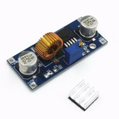 Dc To Dc 4v-38v To 1.25v-36v 5a Step Down Buck Power Supply Module Xl4015 Usa