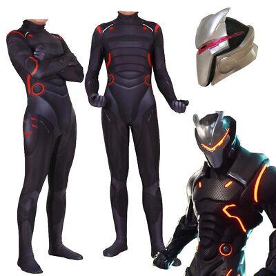 Battle Royale Game Omega Oblivion Cosplay Halloween Bodysuit Costume Led - Game Halloween