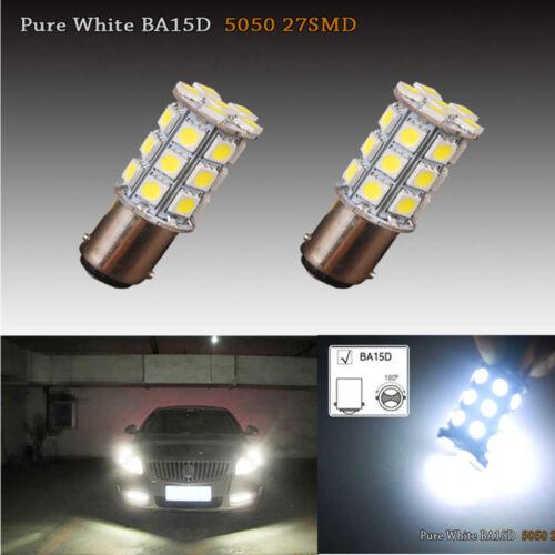 For Freightliner Cascadia 2PC 27Smd White Interior LED Dome Cab Light Bulb 6000K