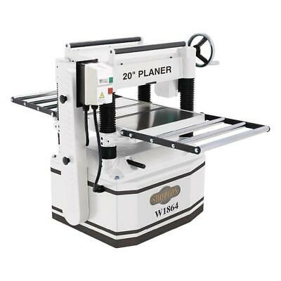 Shop Fox W1864 20-inch 5-hp Top-mounted Cast-iron Four-knife Planer