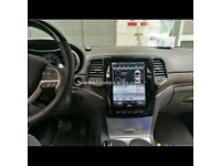 10.4'' Tesla Style Vertical HD Screen Car GPS Intelligent Navigation For JEEP GRAND CHEROKEE