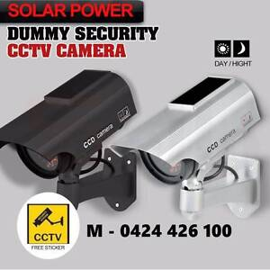 Solar Power Dummy Fake Camera Blink LED CCTV outdoor Security Noble Park Greater Dandenong Preview